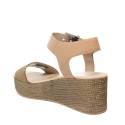 Tommy Hilfiger EN0EN00221/003 sandalo donna con zeppa media colore cipria