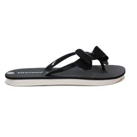 Superga thong with bow black low model article S24R964/BLACK