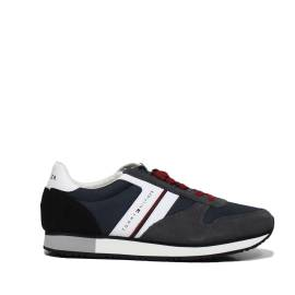 Tommy Hilfiger FM0FM01590 909 MIDNIGHT-DARK GRE sneakers uomo