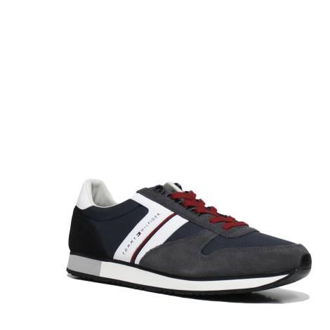 Tommy Hilfiger FM0FM01590 909 MIDNIGHT DARK GRE sneakers uomo
