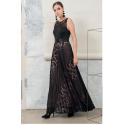 EDAS LUXURY CELLIO DRESS LONG WOMAN COLOR BORDEAUX