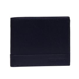 Mario Valentino VPP2SS51 BLU CODE portafoglio uomo layout orizzontale