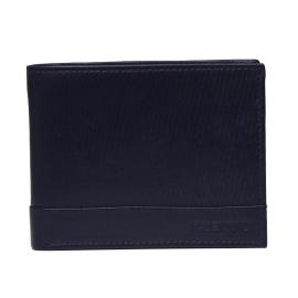 Mario Valentino VPP2SS13 BLUE CODE men's wallet horizontal layout