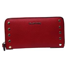 Valentino Handbags VPS1OW155 LUCY ROSSO portafoglio donna con chiusura zip