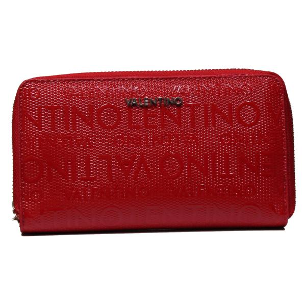 Valentino Handbags VPS1OM47 SERENITY ROSSO portafoglio donna con chiusura zip
