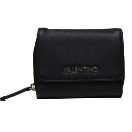 Valentino Handbags VPS319102 READY NERO portafoglio donna con chiusura zip