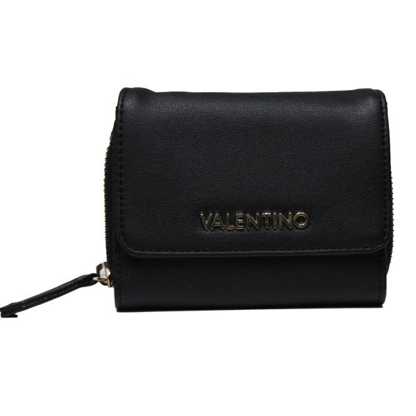 Valentino Handbags VPS319102 READY BLACK women's wallet with zip closure