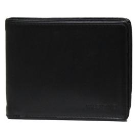 Mario Valentino VPP2BL13 NERO AMOS portafoglio uomo layout orizzontale