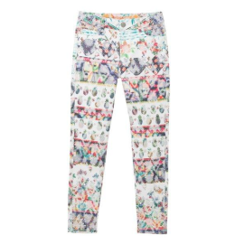 Desigual 18SWPN20 1000 PANT_ARANTXA women's trousers