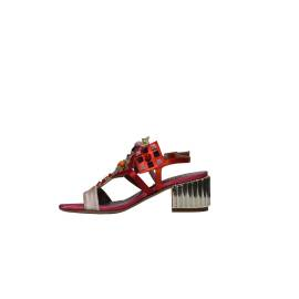 Albano 3948 RASO CIPRIA woman's sandal with colorful applications