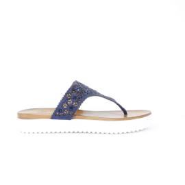 La Femme Plus Sandalo Basso Donna Art. 033-A10 Blu
