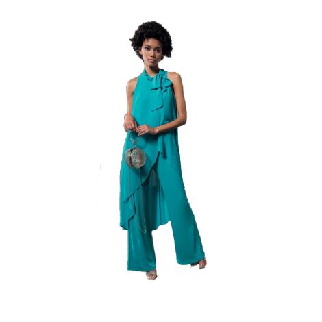 EDAS Luxury Gelalia woman suit with sash at the neck