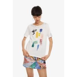 Desigual 19SWTK53 1000 TS_CANTERBURY t-shirt donna