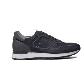 Nero Giardini sneaker da uomo in camoscio colore grigio P900832U 214