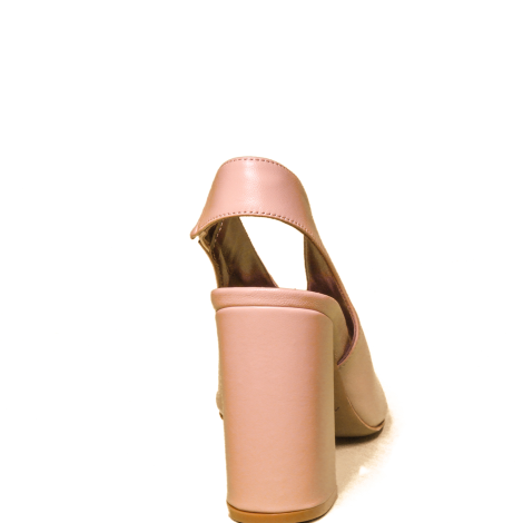 2225 Sandalo Tacco Cipria Modello Albano Tr90 Color Con Alto Donna Nudo iuOXPkZ