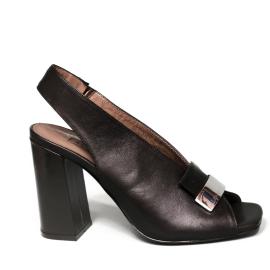 Albano sandalo donna con tacco alto colore nero modello 2225 TR90