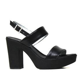 Nero Giardini sandalo con tacco alto colore nero e modello P908122D 100