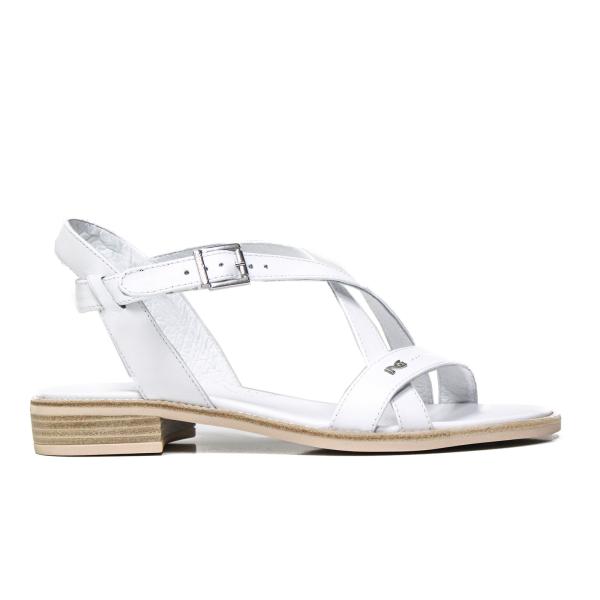 Nero Giardini sandalo donna basso colore bianco modello P908230D 707