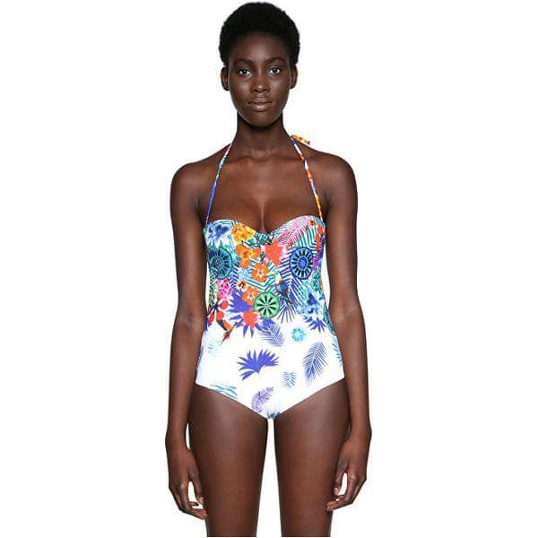 DESIGUAL BIKI_EMMA Bikini pezzo unico Colore 1000 18SWMK18 / 1000
