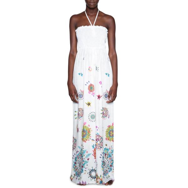 DESIGUAL PANT_DALILA Pantalone estivo da donna colore 1000 18SWMW18 / 1000