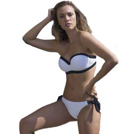 Ysabel Mora Swimwear Bianco e nero 81177