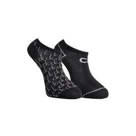 Calvin Klein F16CKW-HC3-E Cotton Blend. Pairs Performannce Coolmax. Due paia di calzin, taglia unica , colore nero