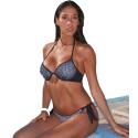 Bikini coppa push up nero Dolcemare 2359