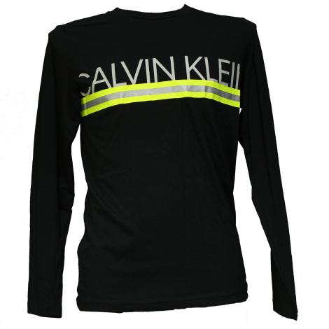 Calvin Klein Maglia manica lunga Pigiama Nero NM1772E-001