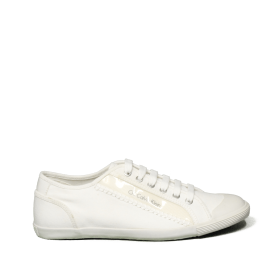 Calvin Klein sneaker Thirty Normal Canvas+Webbing White 010630