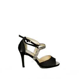 Trendy too sandalo di colore nero codice articolo TBEV042