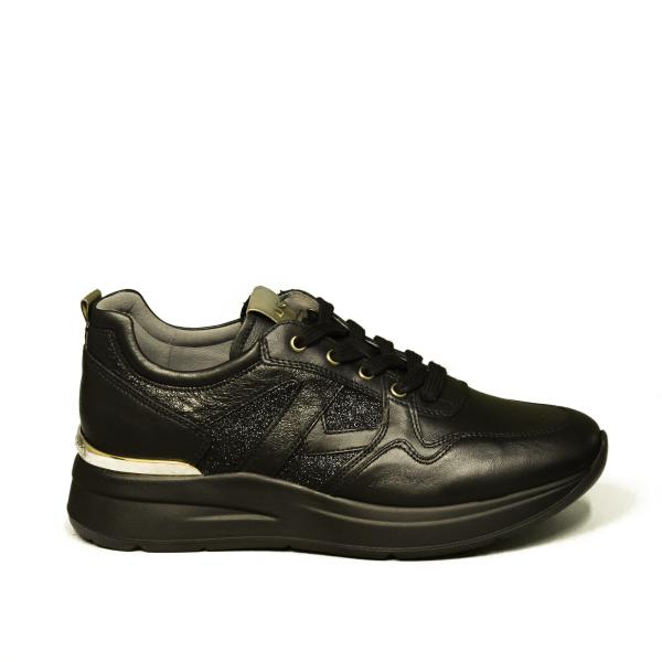 Nero Giardini sneaker donna colore nero /glitter art. A908893D 100