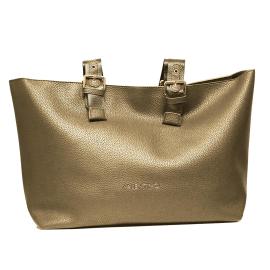 Valentino Handbags borsa sintetica babar donna colore bronzo Art. VBS3AZ01