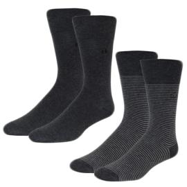 Calvin Klein socks black man two pairs per package art. ECW177 exp2