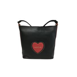 Valentino Handbags borsa di colore nero/rosso Violino articolo VBS3JZ02