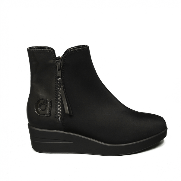 Agile by Rucoline boot Woman black Article 211 A LYCRA 1955