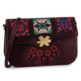 Desigual bag by hand bordeaux color model bols bold amorgos Article 19WAXPAS 3007