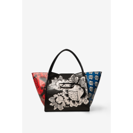 Desigual bag big model Blomming Bols Winter multicolor Zaira Article 19WAXP17 2000