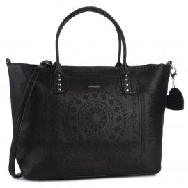 Desigual bag big model Bols soft bandan holbox black Article 19WAXP80 2000