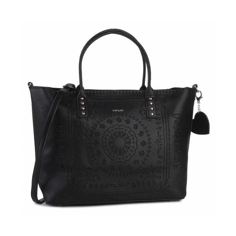 Desigual bag big model Bols soft bandan holbox black Article
