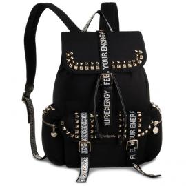 Desigual backpack model Bols bright rock tribeca black Article 19WAKA22 2000