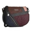 Desigual bag model odin rigali black Article 19WAXPDU 6044