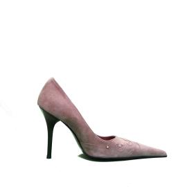 Dadà Firenze decoltè con tacco alto colore rosa antico articolo 33060