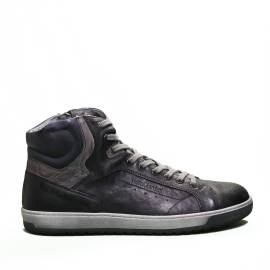 Nero Giardini sneaker high man lead color leather article A9 01230 U 100