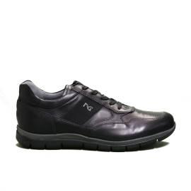 Nero Giardini sneaker uomo in pelle colore nero articolo A9 01210 U 100