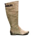 Luca Stefani boot to heel low beige colored article 99 03 11 - Mara