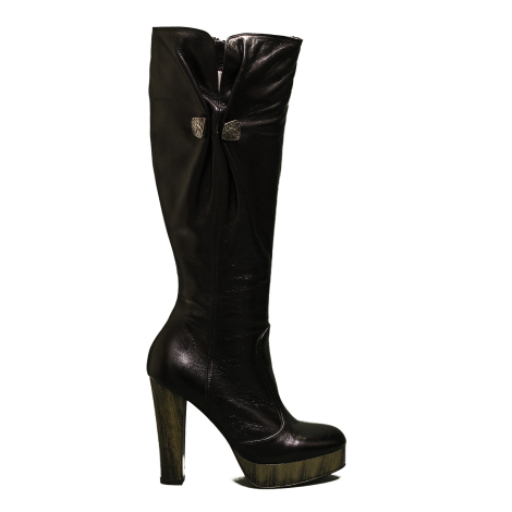 Miss Sixty boot of skin color black article the9635