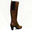 Manas boot to heel low color leather article 82050rq
