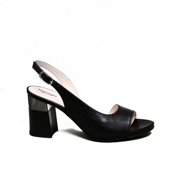 Nero Giardini sandalo elegante donna con tacco alto colore nero articolo E012861DE 100