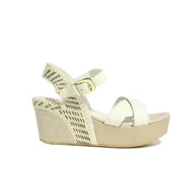 La Femme Plus Woman Wedge Sandal Media Art. 13-1 Beige