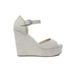 La Femme Plus Sandalo Donna Zeppa Alta Art. N09-01 Bianco